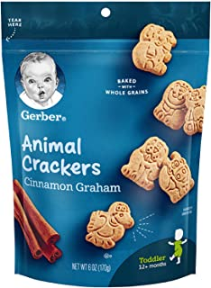 Gerber Animal Crackers Pouch, 170 gm