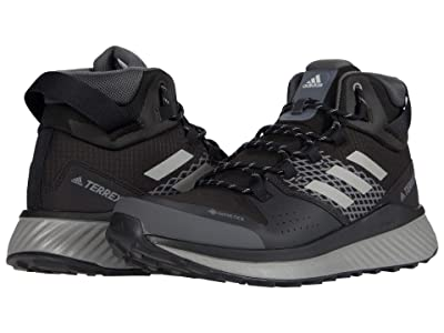 adidas Outdoor Terrex Folgian Hiker Mid GTX (Black/Grey Three/Grey One) Men