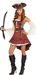 زي القراصنة كاستواي للنساء هالوين من امسكان، صغير، مع الملحقات المرفقة
