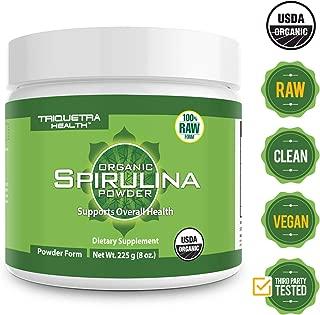 vitality power iron organic spirulina