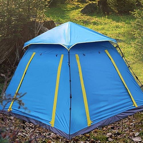 Ashuang 2-3 Personne Fête Famille Randonnée Voyage Voiture Auto Conduite Parc Plage Pêche Preuve De La Pluie Anti-Vent Camping Extérieur Tente