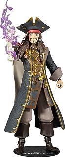 "McFarlane Toys Disney Mirrorverse Captain Jack Sparrow 7"" Action Figure with Accessories"