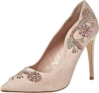 Dune London Bonus DI Occasion Shoe For Women, Blush, 41 EU