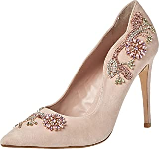 Dune London Bonus DI Occasion Shoe For Women, Blush, 41 EU
