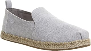 fa9c969b776 Toms Women s Deconstructed Alpargata Chambray Ankle-High Canvas Flat Shoe