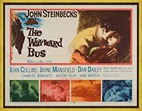 Framed Movie Poster Giclee Print On Canvas-Film Poster Reproduction Wall Decor(The Wayward Bus 2) #XLK