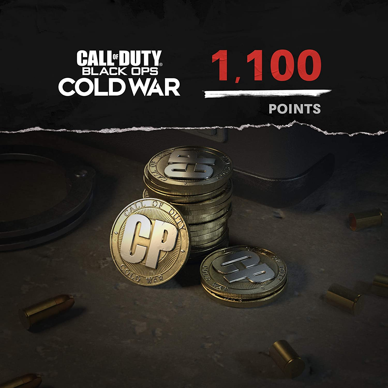 Call of Duty: Black Ops Cold War - 1,000 COD Points + 100 Bonus