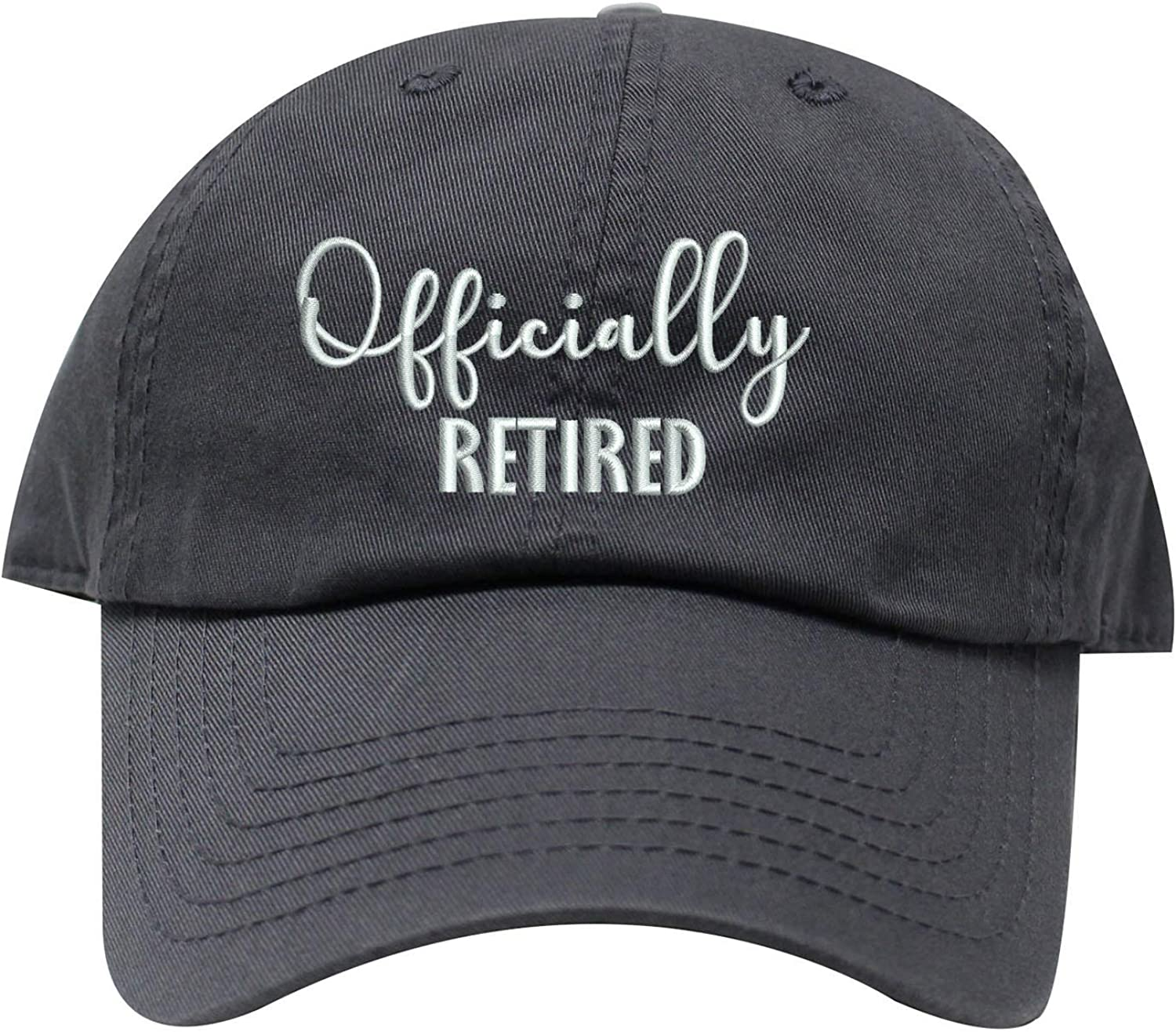 INK STITCH Officially Retired Cotton Baseball Caps - 21 Colors