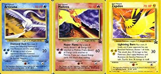 Pokemon Card - Black Star Promos #21, #22 and #23 (Articuno, Moltres and Zapdos ) - All Factory Sealed