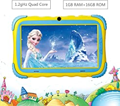 Kids Tablet – 7 inch IPS HD Eye Protection Screen Upgraded Children Tablets, 16GB..
