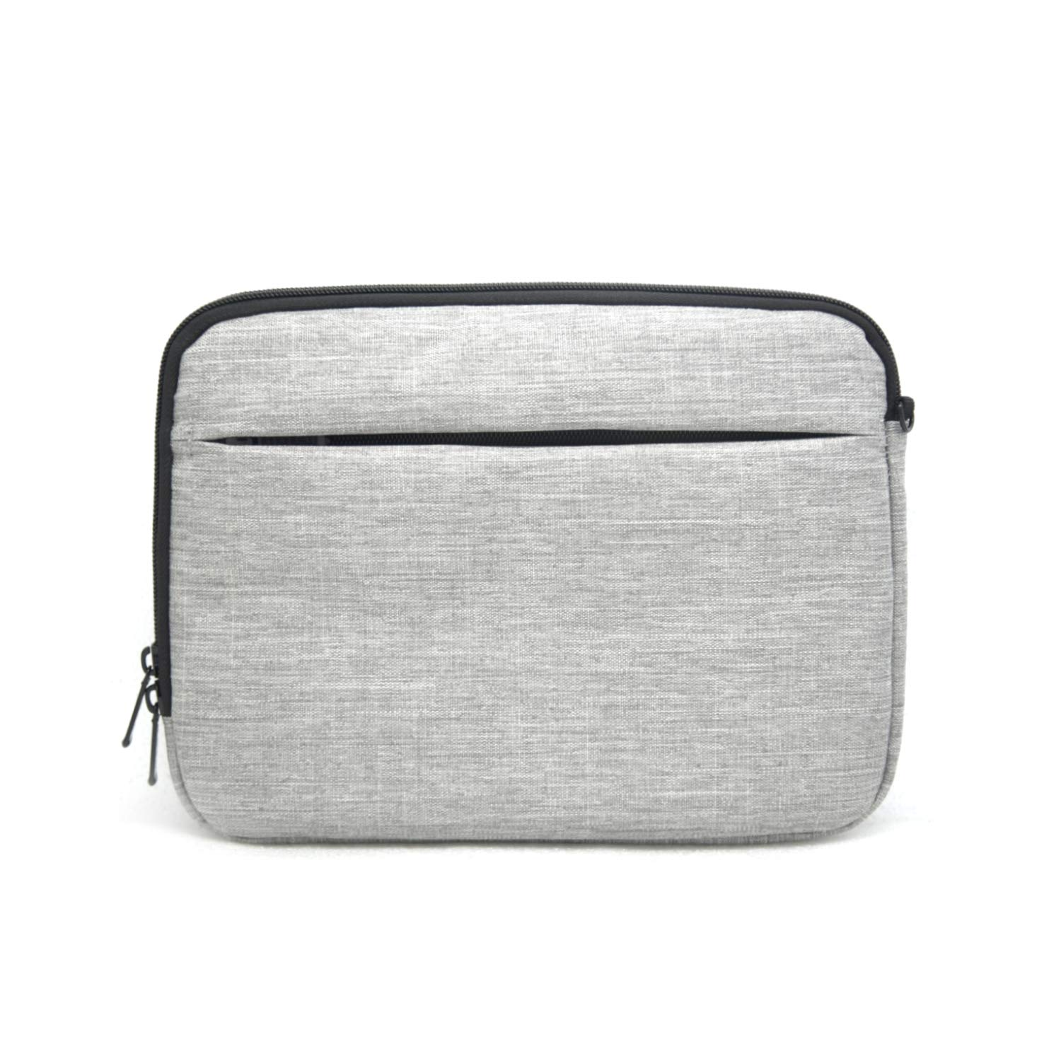 Protective Cover Bag for Apple iPad Air//Pro 11 10.5 10.1 9.7 Gen 2 3 4 Android Galaxy Tab Patu Portable 9-11 Inch Tablet Sleeve Case Gray Accessories Organizer Document Pocket