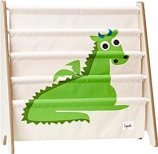 3 Sprouts - Étagère à livres - Étagère de rangement pour enfants, meuble de bibliothèque pour chambre de bébé, Dragon