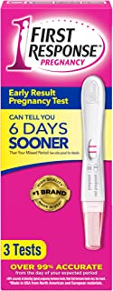 First Response Early Result Pregnancy Test, 3 Tests (Packaging & Test Design May Vary)