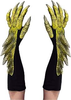Green Dragon Adult Gloves