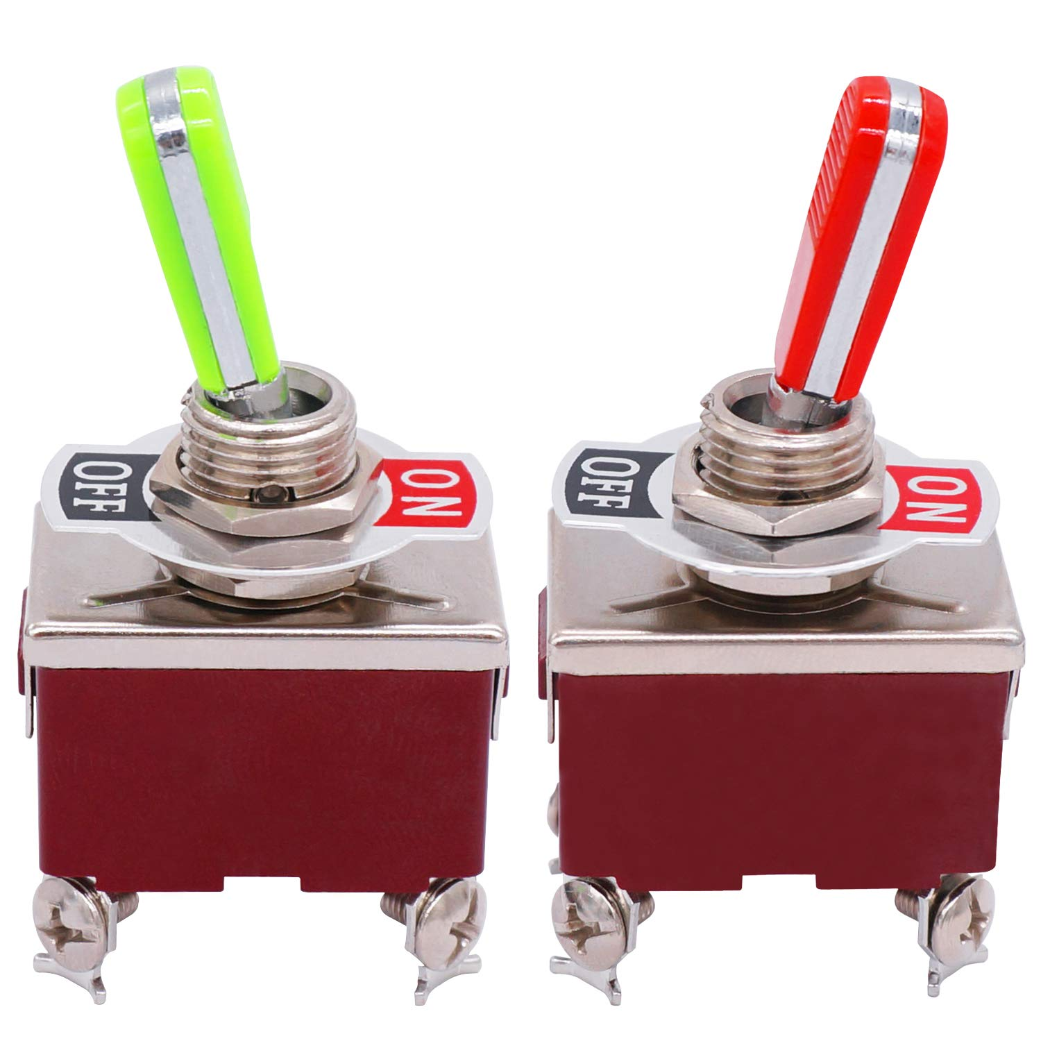 TWTADE 2pcs Heavy Duty Sales of SALE items from new works shopping Toggle Switch Position 4 DPST Terminals 2