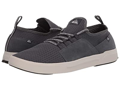 Quiksilver Summer Stretch Knit Shoes (Grey/Grey/White) Men