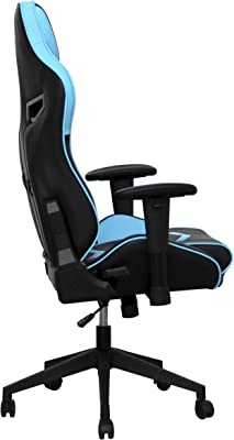 BattleSeat Silla Gaming Cyclone Azul y Negra, diseñada para un público Gamer, Ideal para