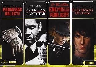Cuadruple Thriller: Enemigos Publicos + Promesas Del Este + En El Nombre Del Padre + American Gangster [DVD]