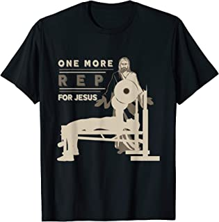 jesus bench press t shirt