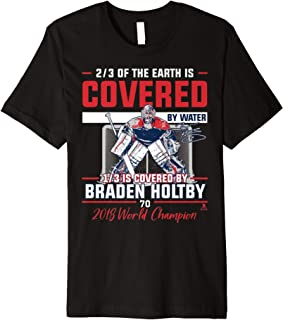 Braden Holtby 1/3 Of The Earth T-Shirt - Apparel