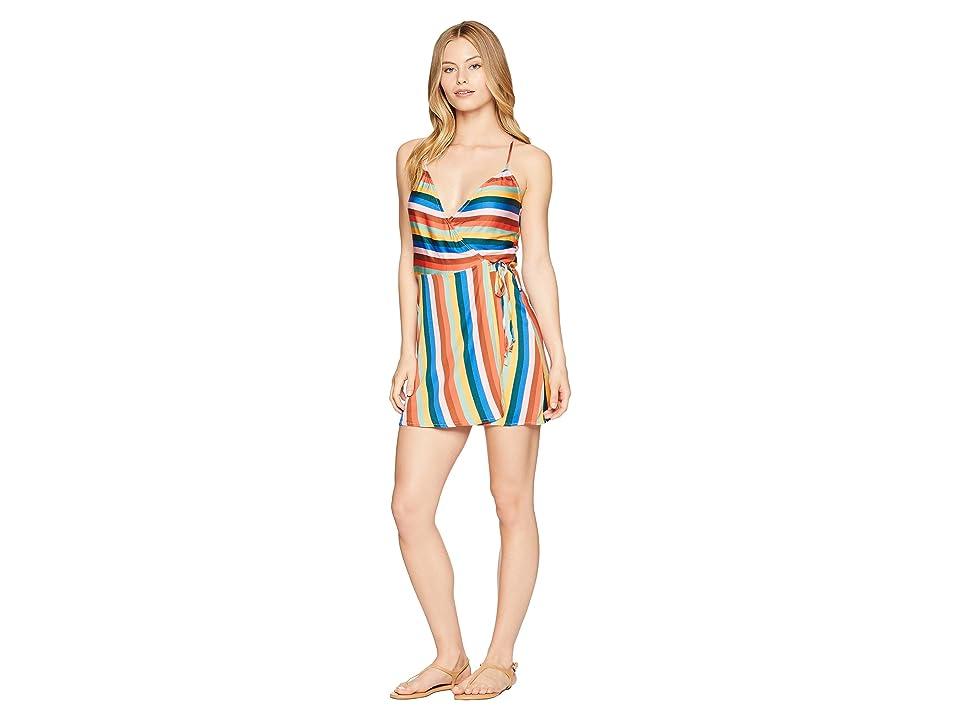 THE BIKINI LAB Palm Springs Wrap Dress Cover-Up (Multi) Women