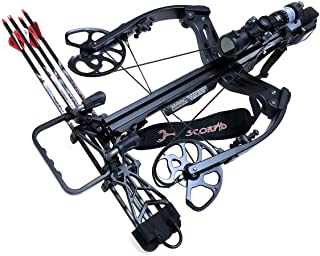 Scorpyd Aculeus 460FPS ACUdraw Crossbow - Black Soft Touch