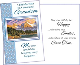 Prime Greetings Happy Birthday Card For Grandson