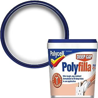Polycell Ready Mixed Tub Deep Gap Polyfilla, 1 L - White