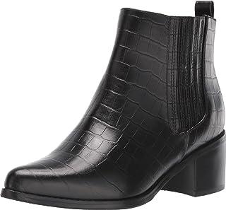 Blondo Women's Elvina حذاء برقبة للكاحل مقاوم للماء, (Black Croco), 37 EU