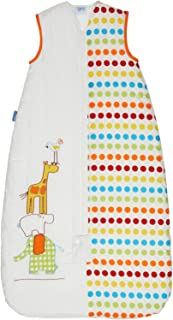 Grobag Baby Sleeping Bag 1.0 Tog, Dotty Day Out, 6-18 Months (Discontinued by Manufacturer)