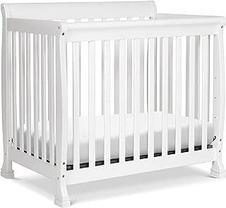 DaVinci Kalani 4-in-1 Convertible Mini Crib in White | Greenguard Gold Certified