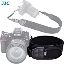 JJC NS-Q2 Neoprene Camera Strap, Quick Release Rapid Shoulder Neck Sling Strap Belt, w/Quick-release Clips 2 Zippered Pockets, Compatible with Canon Fuji Nikon Olympus Panasonic Pentax Sony Camera