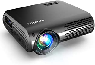 Native 1080P Projector, WiMiUS Upgrade 7000 Lumens Projector Support 4K 200'' Display, 4D ±50° Keystone Correction, Zoom F...