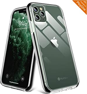 Humixx Stronghold Series Clear iPhone 11 Pro Case [10FT Military Grade Drop Tested] Advanced Shockproof Case Cover with Non-Newtonian Shock-Absorbing Soft Bumper Designed for iPhone 11 Pro