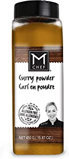 MCHEF Curry Powder, Natural Spicy Blend, Organic, Kosher, Non GMO, Vegan, Gluten Free Ingredients (15.87 oz)