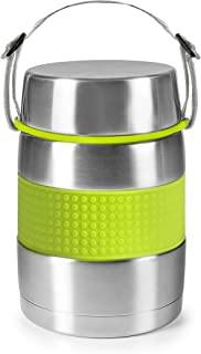 Ibili 741410 Thermo pour Aliment Solide Inox Vert 1000 ml 13 x 13 x 17 cm