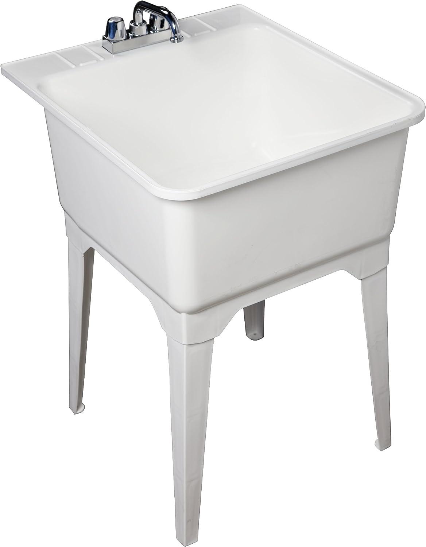 National uniform free shipping Masco Bath 101040 All-In-One San Francisco Mall Standard Sink 19-Gallo Utility Kit