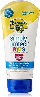 Banana Boat Simply Protect Kids Sunscreen Lotion SPF50+, 180ml