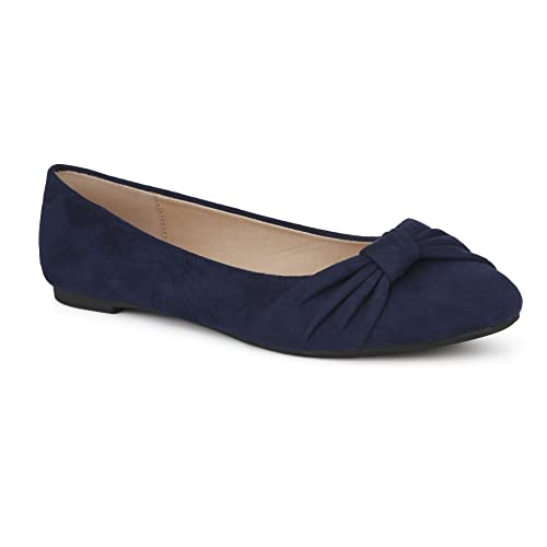 6d00fa1c2788d Women's Flat Navy Shoes: Amazon.co.uk