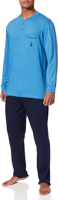 Navigare, pigiama da uomo, due pezzi, in jersey ci cotone 100 % 25600-14-60-1