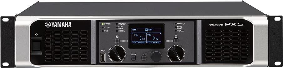 Yamaha PX5 Dual Channel 2x800W Lightweight Power Amplifier w/ DSP