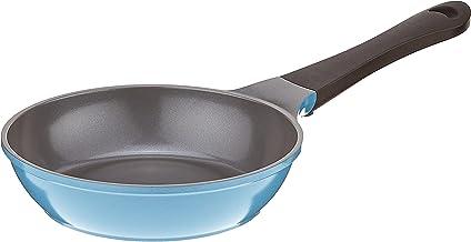Neoflam 8-Inch Eela Frying Pan with Bakelite Handle and Ecolon Non-Stick Coating, Deep Blue