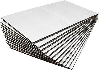 uxcell 197mil 5mm 21.4sqft Heat Sound Deadening Deadener Insulation Mat for Car 79x39inch