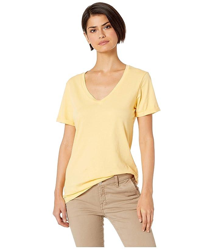 LAmade Staple V S/S Tee (Mellow Yellow) Women's T Shirt