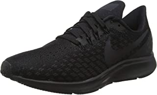 Nike Women's Air Zoom Pegasus 35 Running Shoes Black/White/Oil Grey 8 B(M) US
