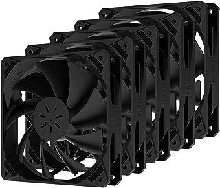 upHere Ventilateur PC 120mm pour Boîtier PC Ultra Silencieux, 5 Pack