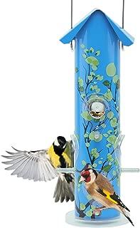 metal bird feeding station