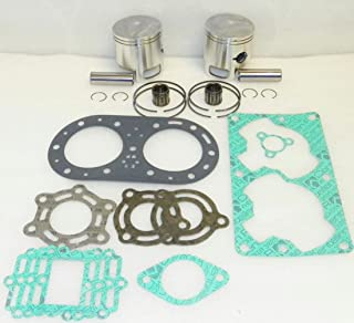 NEW REBUILD KIT COMPATIBLE WITH .75MM OVER TIGER SHARK 94-95 BARRACUDA DAYTONA MONTE CARLO 640CC