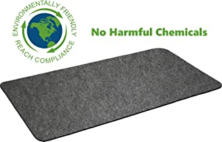 """Premium Grill Mat by Montana Grilling Gear for Gas or Electric Grill – Use this Absorbent Grill Pad Floor Mat to Protect Decks and Patios from Grease Splatter and Other Messes – 30"""" X 48"""""""
