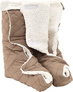 Leg And Foot Warmers Large - Plush Fleece Lining